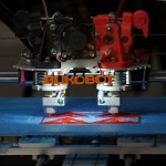 Bukobot Dual Extruder at Crashspace Demo