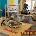 Bukobot at MAKE magazine's 3D printer tests
