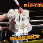 Bukobot - Extruder feed clamp