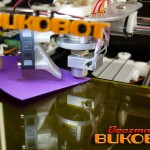 Bukobot - Checking extruder & platform gap