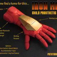 IronMan 3D Printed Kids Hand